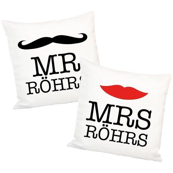 Hipster-Kissen für Ehepaare
