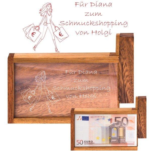 Magische Geldgeschenkebox - Shopping Queen
