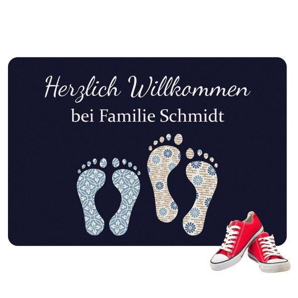 Fußmatte - Füße