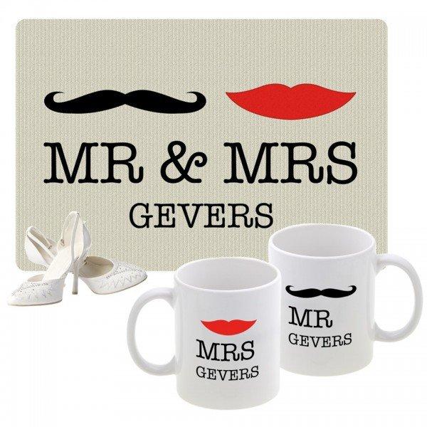 Geschenkset - Mr & Mrs