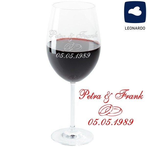 Weinglas - Hochzeit