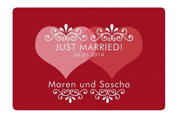 Fußmatte - Just Married